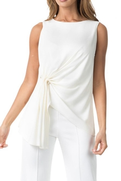 Shoptiques Product: White Asymmetric Blouse