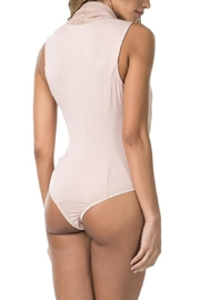 cq by cq Wrap Front Bodysuit - Back cropped