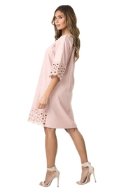 cqbycq Circled Crochet Dress - Front full body