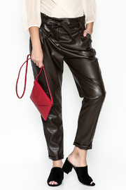 cqbycq Faux Leather Pants - Product Mini Image