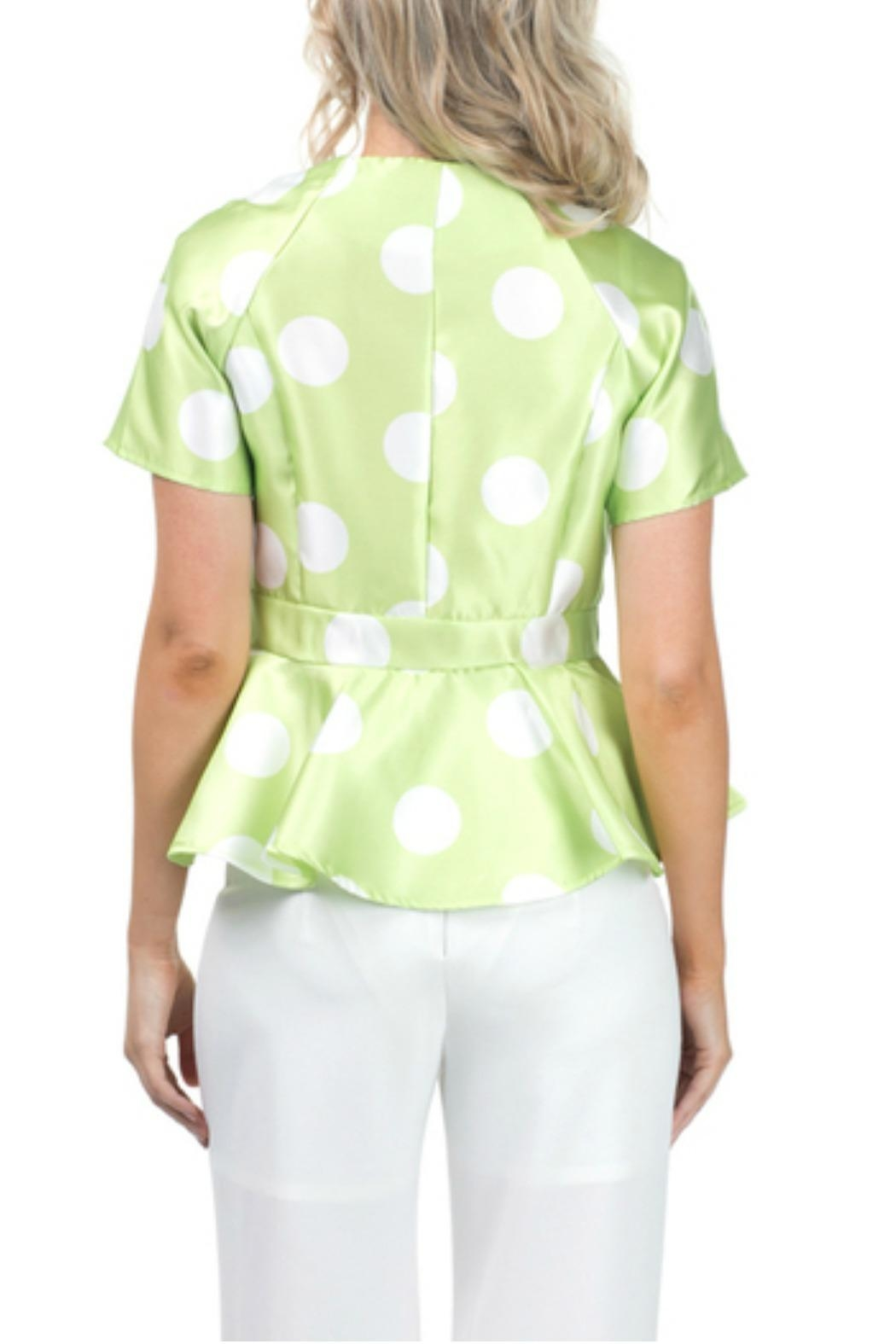 cqbycq Peplum Blouse Top - Side Cropped Image