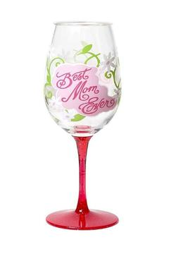 Shoptiques Product: Best Mom Wineglass