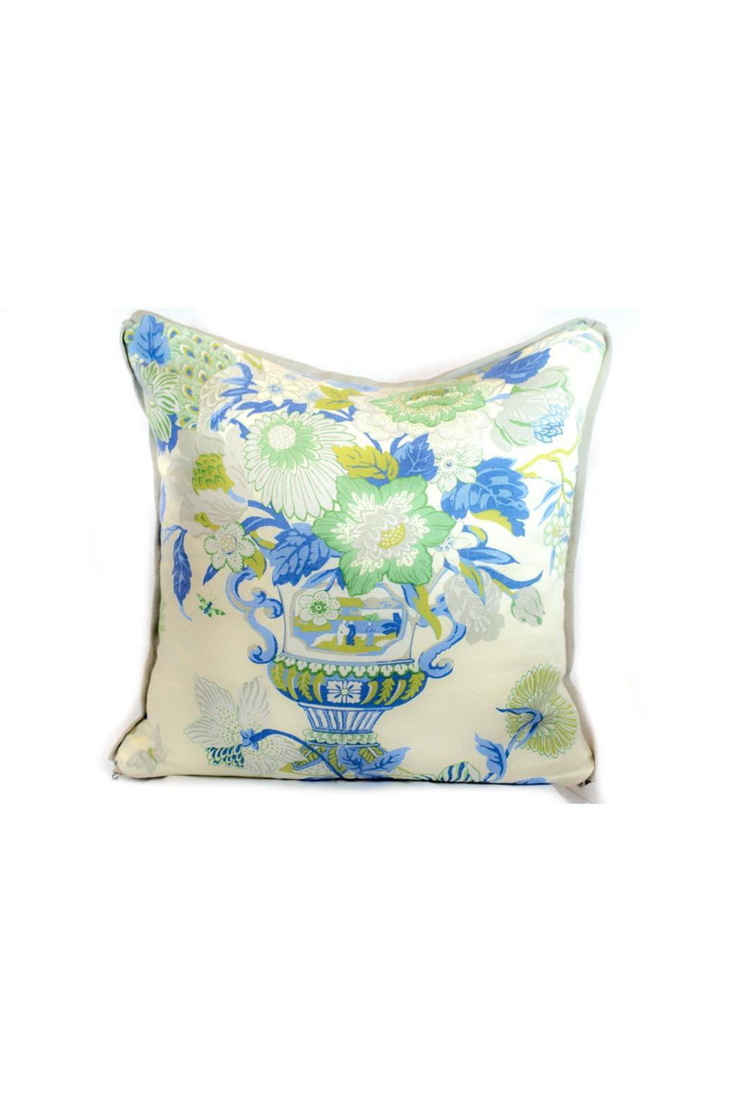 Cr Laine Williamsburg Hyacinth Pillow From Maryland By