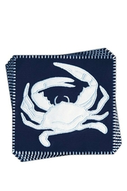 Rightside Design Crab Coasters Setof4 - Front cropped