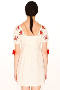 PepaLoves Crab Embroidered Dress - Product List Image