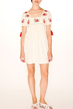 PepaLoves Crab Embroidered Dress - Alternate List Image