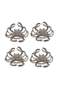 Mardi Gras Collection Crab Napkin Rings-4 - Product List Image