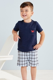 Mud Pie Crab Short Set - Front cropped