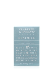 Crabtree & Evelyn Goatmilk Bar Soap - Product Mini Image