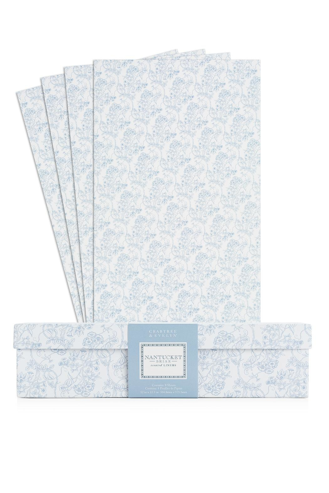 Crabtree & Evelyn Nantucketbriar Drawer Liners - Front Full Image