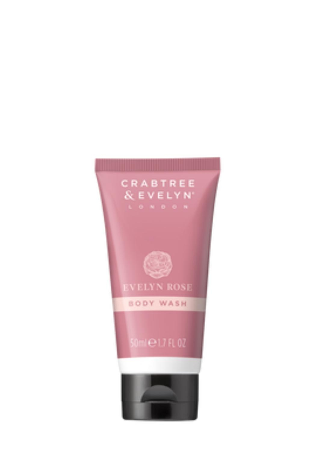 Crabtree & Evelyn Travel Evelynrose Bodywash - Front Cropped Image
