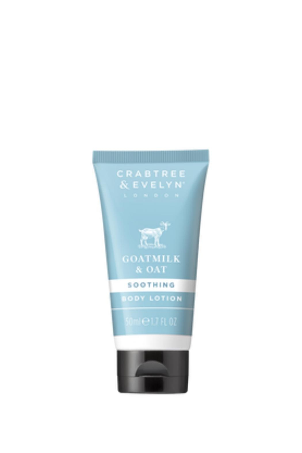 Crabtree & Evelyn Travel Goatmilk Bodylotion - Front Cropped Image