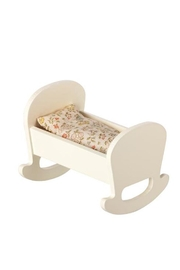 Maileg Cradle With Bedding - Front cropped