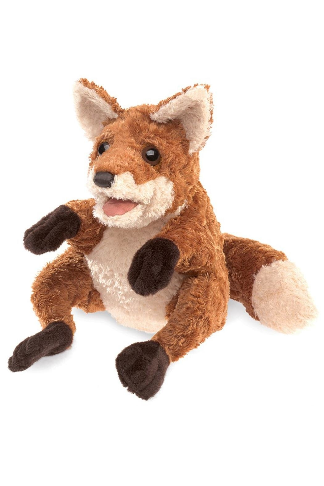 Folkmanis Crafty-Fox Hand Puppet - Front Cropped Image