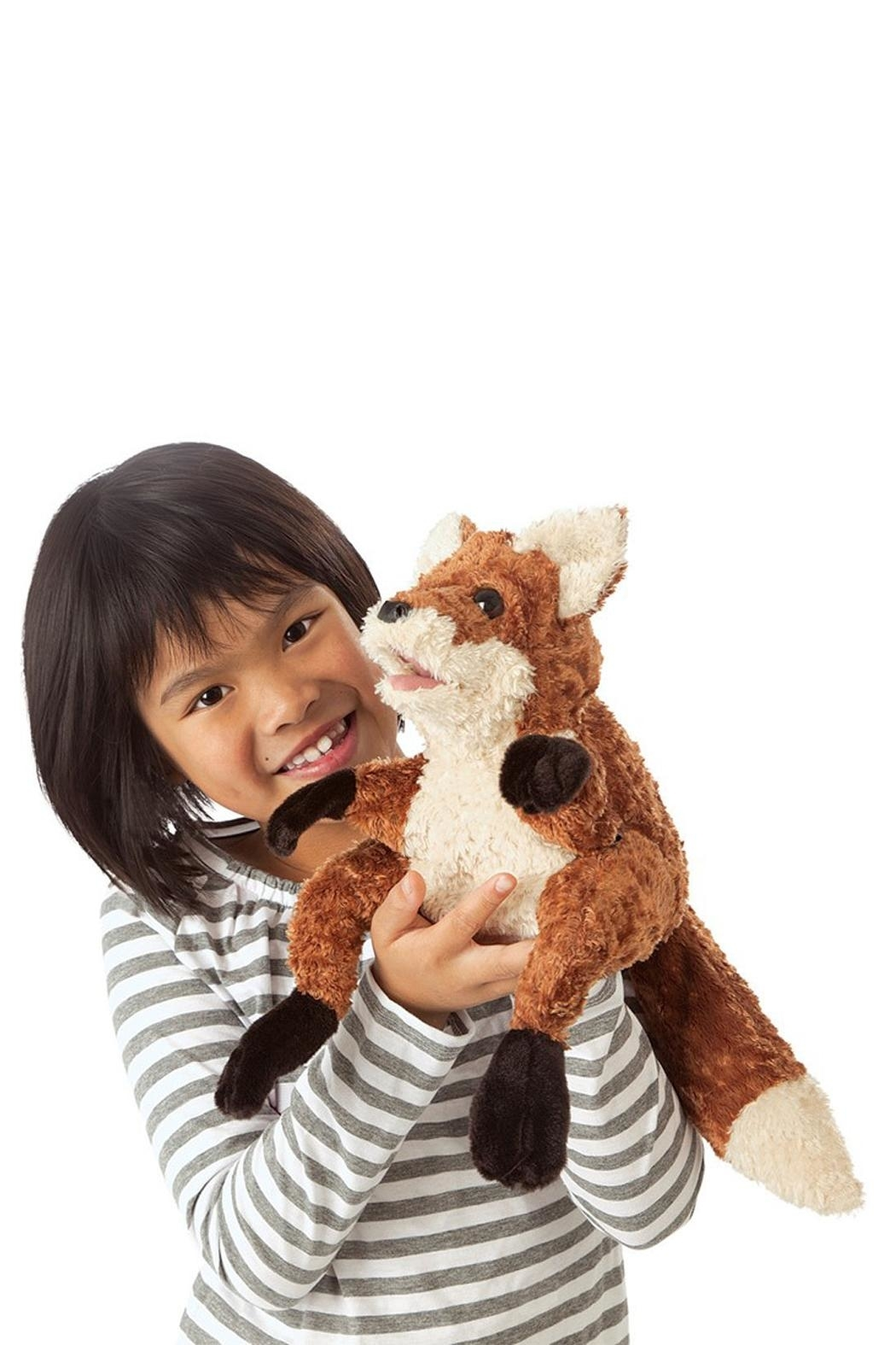 Folkmanis Crafty-Fox Hand Puppet - Front Full Image