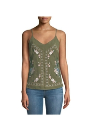 Dex Crane Embroidered Cami - Product Mini Image