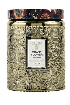 Shoptiques Product: Crane Flower Large Jar Candle