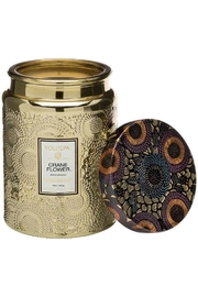 Voluspa Crane Flower Large Jar Candle - Product Mini Image