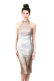 Forest Lily Crash Sequin Dress - Product Mini Image