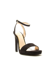 Qupid Crave-01X Platform Sandal - Front full body