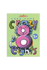 Eeboo Crazy Eights Card Game - Product Mini Image