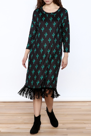 Crazy Train Cactus Midi Dress - Product Mini Image