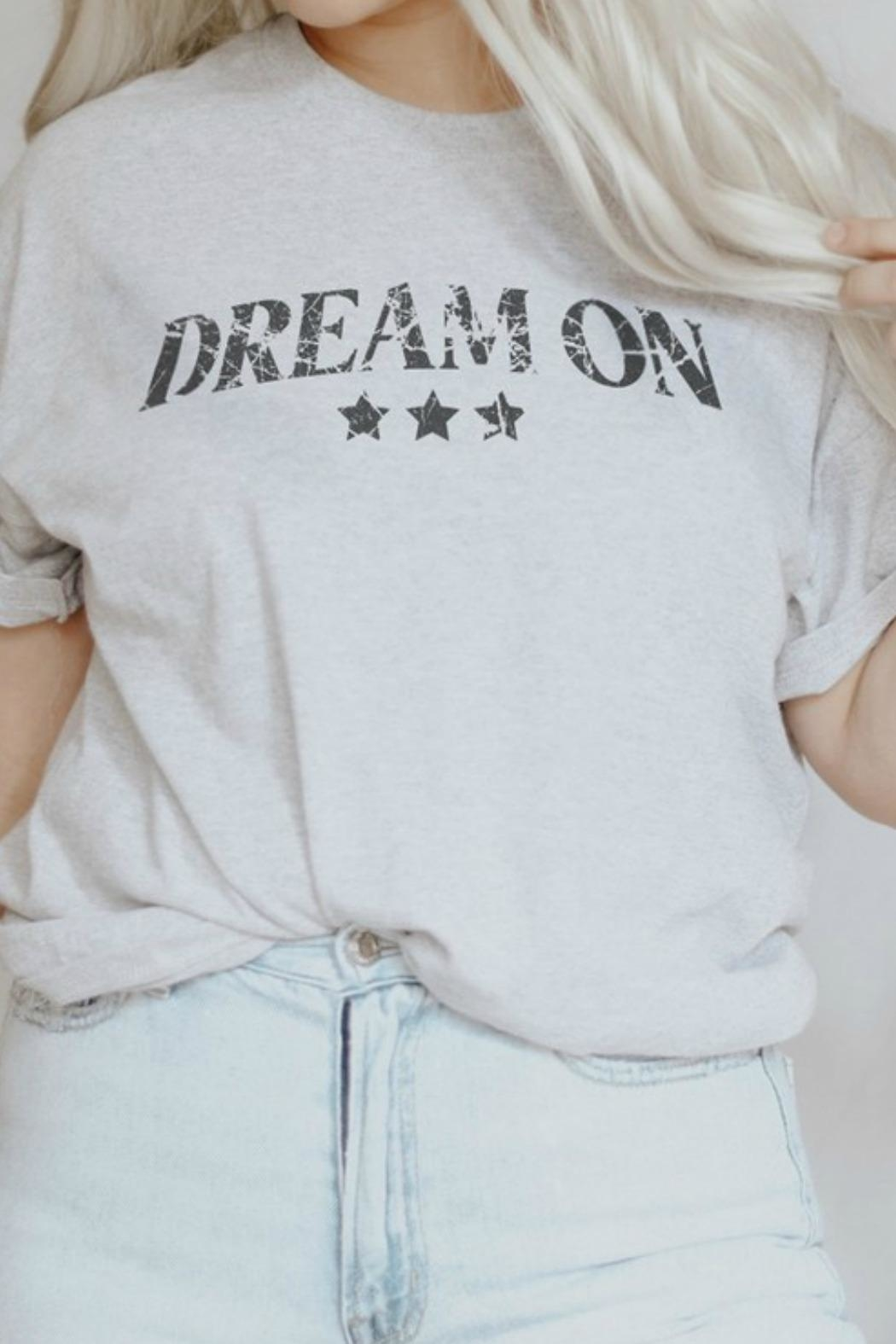 Crazy Cool Threads  Dream On Tee - Main Image
