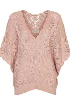 Cream Armily Poncho Top - Product List Image