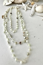 BK Moda Cream Bead Necklace - Product Mini Image
