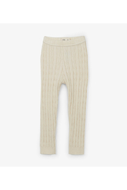 Hatley Cream Cable Knit Baby Tights - Product Mini Image