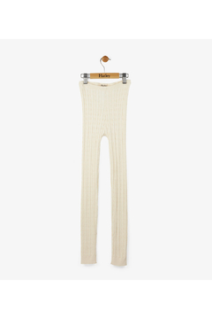 Shoptiques Product: Cream Cable Knit Tights