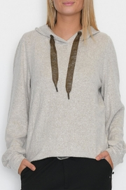 Cream Chanella Hoodie - Front cropped