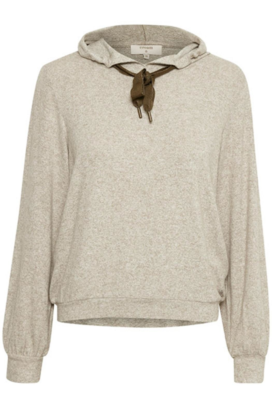 Cream Chanella Hoodie - Front Full Image