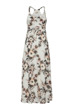 Cream Floral Maxi Dress - Product List Image