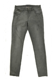 Cream Grey Jeans - Product Mini Image
