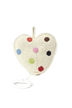 anne-claire petit Cream-Heart Music Box - Product List Image