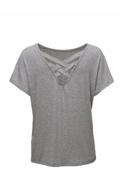 Cream Laurie t-Shirt - Front full body