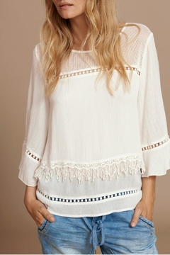 Cream Layered Blouse - Product List Image