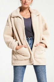 Zsupply Cream Teddybear Coat - Product Mini Image