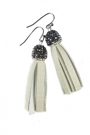 Fabulina Designs Cream Tisla Earrings - Product Mini Image