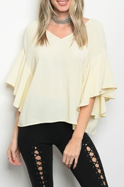 LoveRiche Cream Top - Product Mini Image
