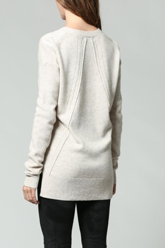 FATE by LFD Cream V-Neck Sweater - Alternate List Image