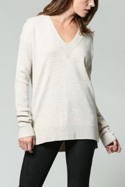 FATE by LFD Cream V-Neck Sweater - Product Mini Image