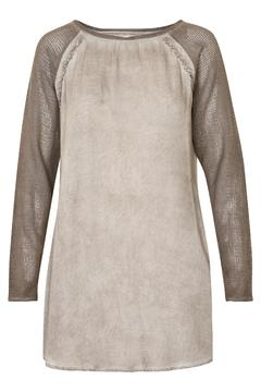 Cream Washed Dyed Tunic - Product List Image