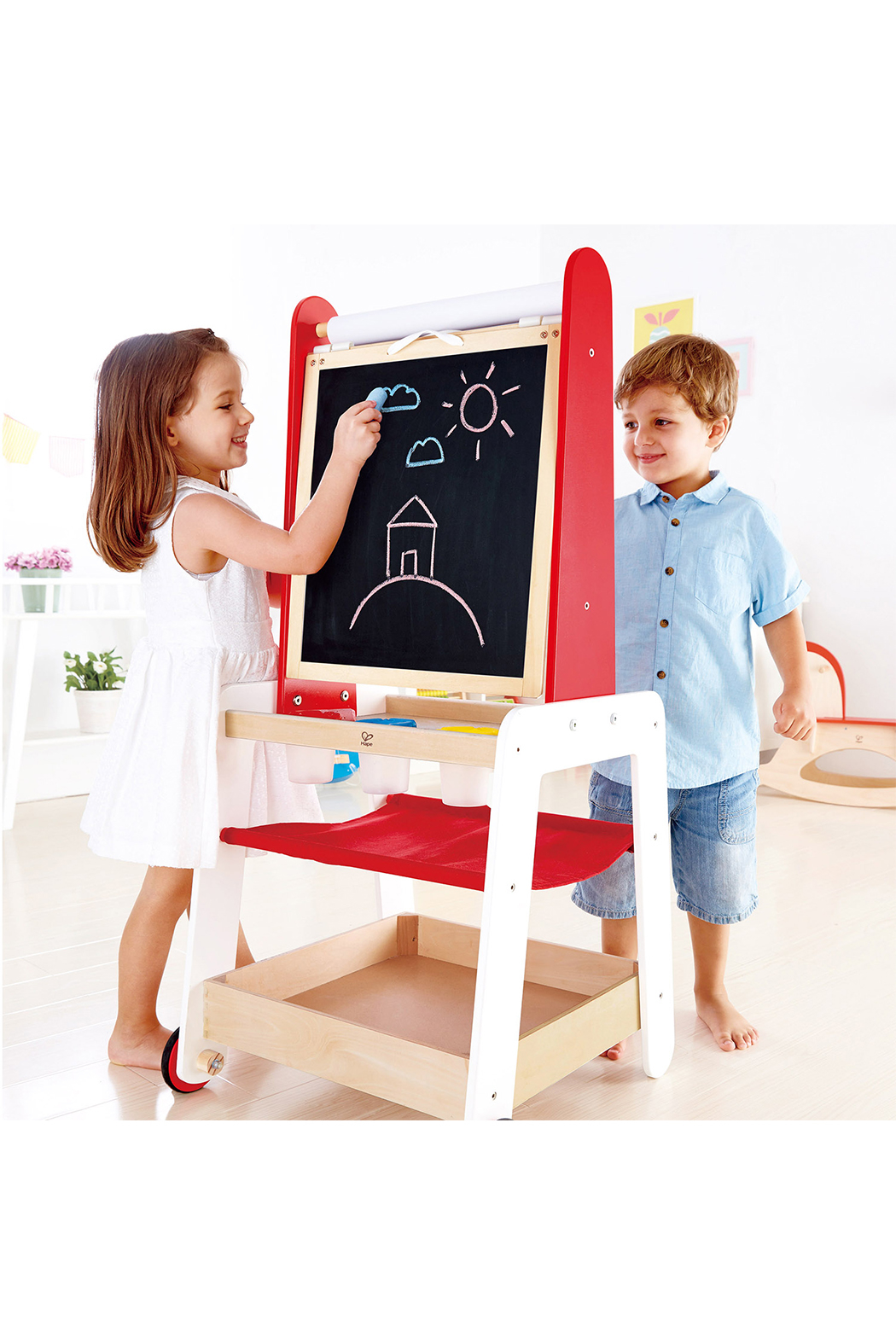 Hape Create and Display Easel - Side Cropped Image