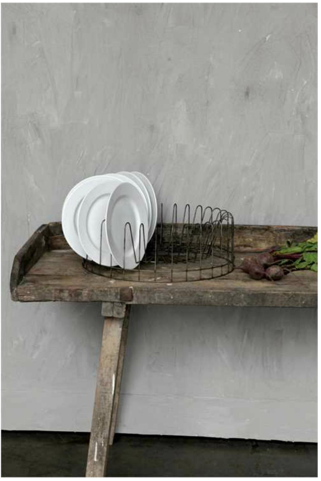 Creative Co-op, Inc. Round Plate Rack - Front Full Image