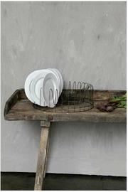 Creative Co-op, Inc. Round Plate Rack - Front full body