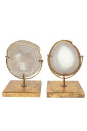 Creative Co-Op Agate On Stand - Product Mini Image