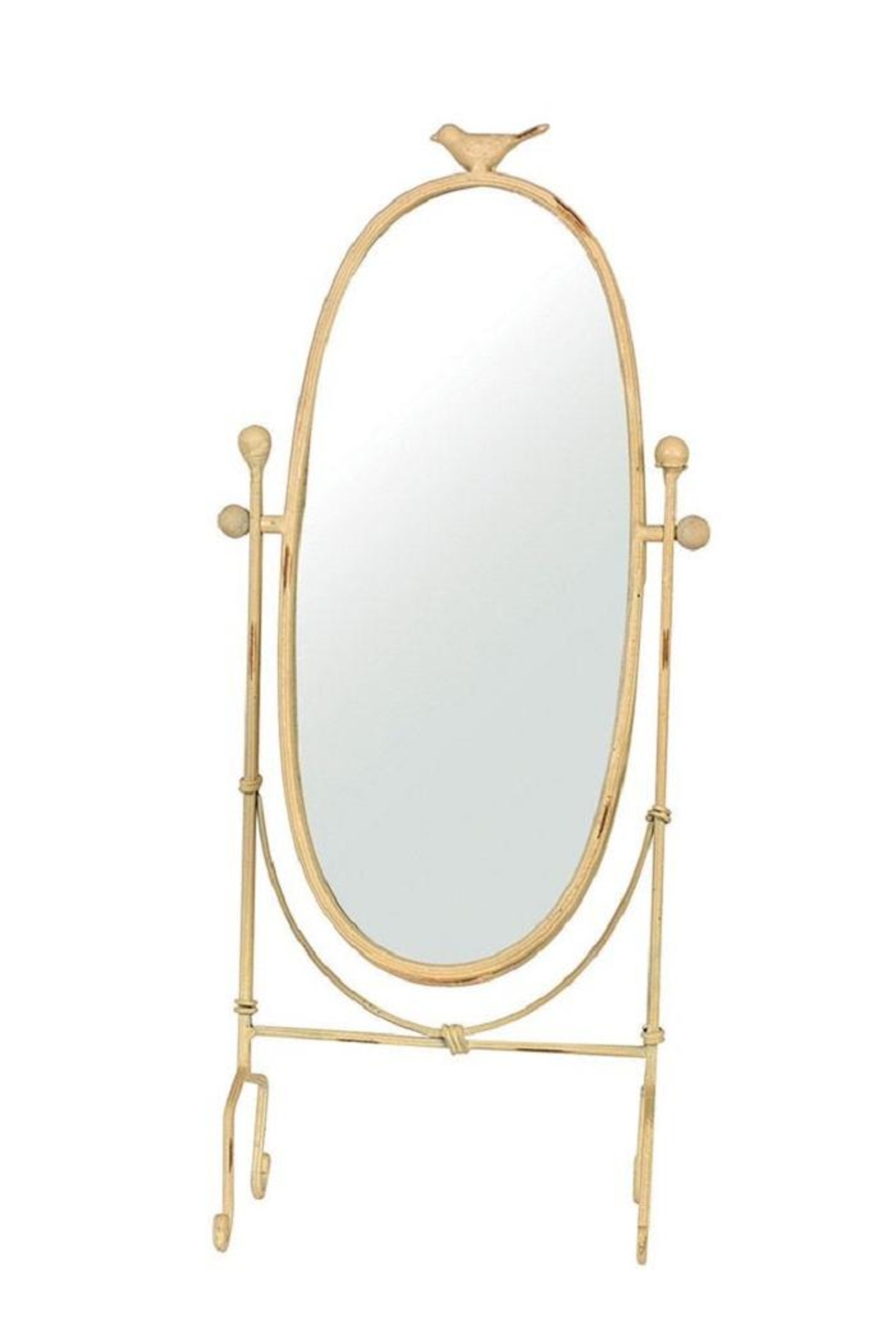 Creative Co-Op Bird Vanity Mirror - Main Image