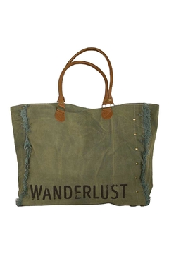Shoptiques Product: Canvas Wanderlust Tote